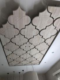 Ahşap tavan dekoru _ _Ahşap _dekoru _podest _tavan