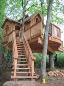 Awesome Tree House Ideas for Your Backyard_8