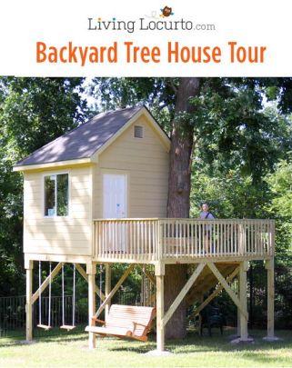 Backyard Tree House Tour via LivingLocurto.com_trixiehobbit