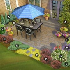 Best pictures_ images and photos about front yard landscaping ideas with perennials _homedecor _gar (13)