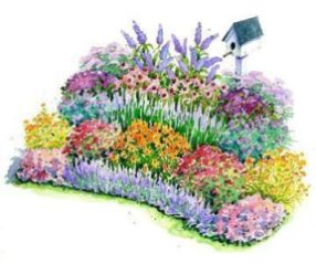 Best pictures_ images and photos about front yard landscaping ideas with perennials _homedecor _gar (17)