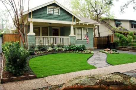 Best pictures_ images and photos about front yard landscaping ideas with perennials _homedecor _gar (4)