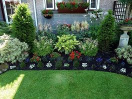 Best pictures_ images and photos about front yard landscaping ideas with perennials _homedecor _gar (44)