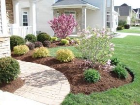 Best pictures_ images and photos about front yard landscaping ideas with perennials _homedecor _gar (7)