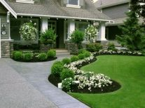 Best pictures_ images and photos about full sun front yard landscaping ideas _homedecor _gardendec