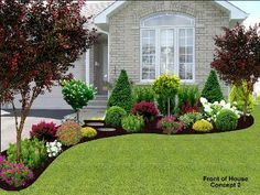Best pictures_ images and photos about small front yard landscaping ideas _homedecor _gardendecor _ (1)