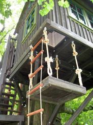 Bring out your inner kid with fun treehouse design elements like a trap door _ Relive your childhood.com _ _treeho