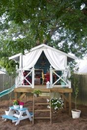 Children_s Tree House _TreeHouseDecor _treehouselife _treehousekids _FrontYardDecor _HomeIdeas