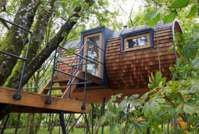 Environmentally Extend Your Home With Bower House Modern_Day Treehouse Designs
