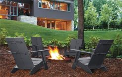 Fascinating modern fire pit metal ring decoration ideas trends for 2019. _firepitdesign _outdoorfirepit _backyard _homedecor