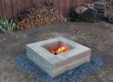 Fascinating rectangular modern fire pit designs with pics. _firepit _FirePitsRock _backyardview _HomeDecorIdeas