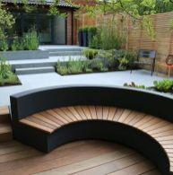 Garden Bench Contemporary 67 Super Ideas _garden