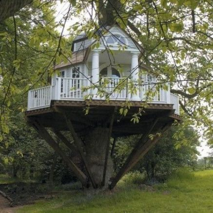 Great Tree House Ideas Trends For 2018 _ Easy to Build 2019 _outdoorliving _backyardideas _homeoutdo