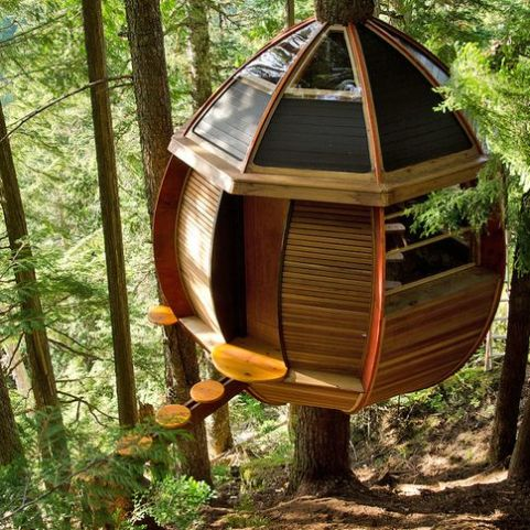 Great Tree House Ideas Trends For 2019 _ Easy to Build _homeoutdoor _outdoorliving _backyardideas _t