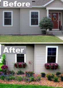 Great front yard landscaping curb appeal decoration ideas with top quality pics. _frontyardlandscapingideas _frontyarddecor _frontyardgarden _landscapingdesigns