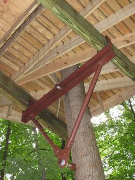 Hardware based largely on zipline technology has revolutionized treehouse design and construction_ s