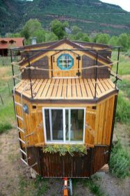I just showed you Jeremy Matlock's first tiny house build_ and here's his second_ the Nautical House (1)