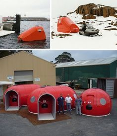 Ice Wall One_ Modular Extreme_Weather Shelters. I bet it would even be great in Florida_s high heat and humidity where I live. LD.