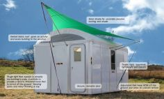 Ikea solar powered shelter can last 10 times longer than a refugee tent and could cost _1000 in mass