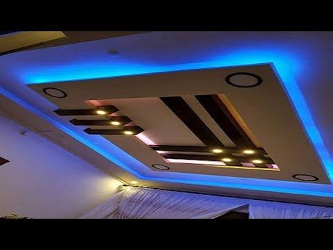 Latest 50 New Gypsum False Ceiling Designs 2017 Ceiling Decorations Living and Bedroom _ YouTube
