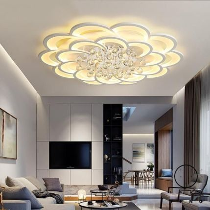 Led Ceiling Lights Crystal lustre plafonnier For home decor – ePeriodLED