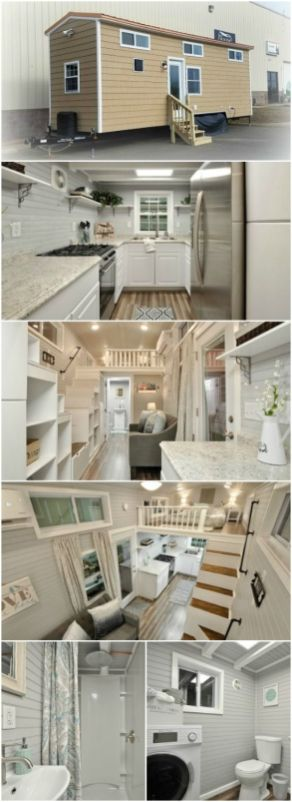 Meet Kate_ the 345sf Luxurious Model from Tiny House Building Company _ The virginia_based company_