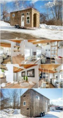 Now Is Your Chance to Snag This Beautiful Tiny House at a Steep Discount _ Global Tiny Houses is a t. Let's take a look.