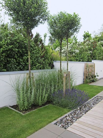 Popular Modern Front Yard Landscaping Ideas 25
