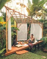 Slip into this eco bamboo home and fully immerse yourself in the natural ambiance of Bali. Booking this Hideout Li