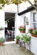 Sneak Peek_ A London Home Filled with Travel Finds. _I'm a bit retro in my love of petunias and lobelia__ _sneakpeek