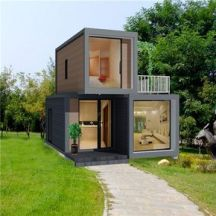 Source expandable flat pack container homes 20ft luxury house sale on m.alibaba.com