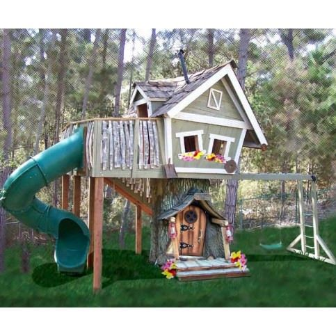 Source_ WellAppointedHouse.com 6. Monkey Tree House This is a tree_house style house but built from the ground up_