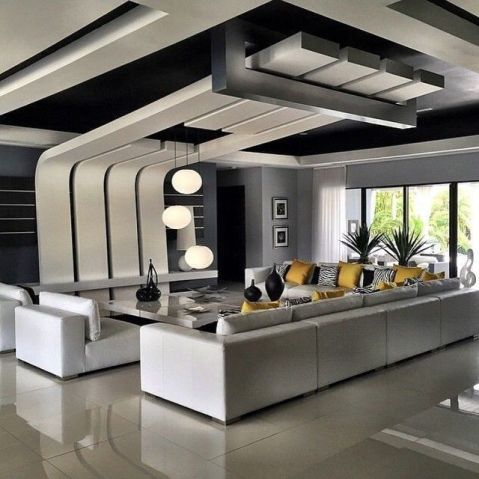 Stylish Modern Ceiling Design Ideas _ Engineering Basic (20)
