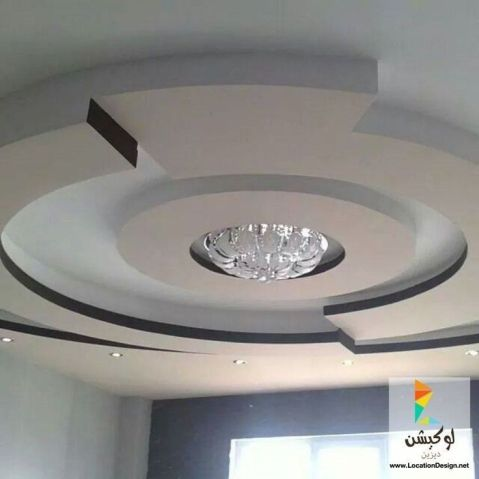 Stylish Modern Ceiling Design Ideas _ Engineering Basic (31)