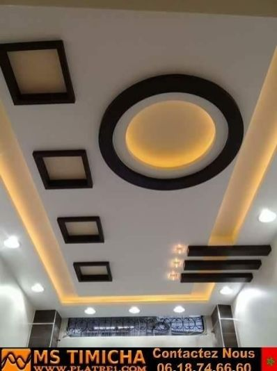 Stylish Modern Ceiling Design Ideas _ Engineering Basic (59)