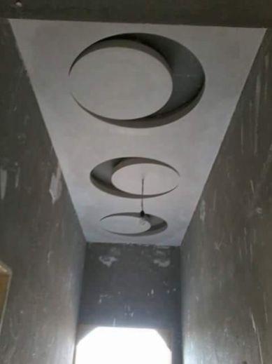Stylish Modern Ceiling Design Ideas _ Engineering Basic (75)