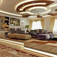 Stylish Modern Ceiling Design Ideas _ Engineering Basic (77)