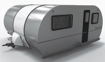 Telescopic Camping Trailers _ The Beauer 3X_s Telescopic Shape Allows For Ample Storage (GALLERY)