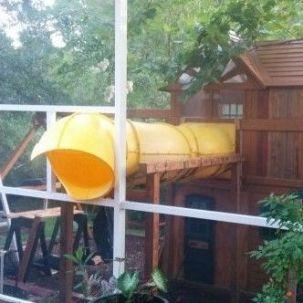 The Connected Tree House for Kids _treehouseideas _backyardideas _kidsplayroom _moderntreehouse