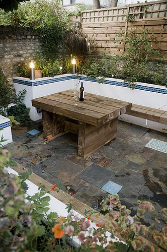 The Moroccan Courtyard Garden by Earth Designs. www.earthdesigns.co.uk. London Garden Design and landscape build. by Earth Designs _ Garden Design and Build_ via Flickr
