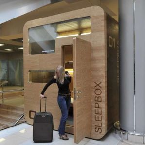 The SleepBox Debuts in International Airports Around the Globe _travel trendhunter.com