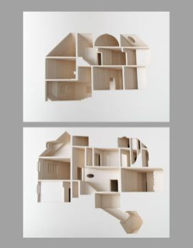 The experience of homes is all about the interior_ yet most architectural models depict primarily (o. Commissioned and published by the Museum of Modern Art in New York_ this book shares its sto