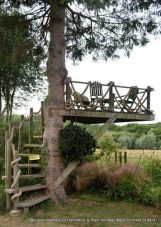 The following is a collection of tree houses that have unique and beautiful designs from all corners. . _treehous