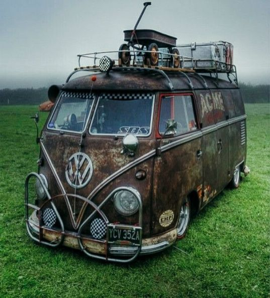 _There is hardly any vehicle on earth with more rugged sex appeal than the classic VW camper_van. Putting aside Volkswagen's recent emissions scandal_ the classic design that so many hi