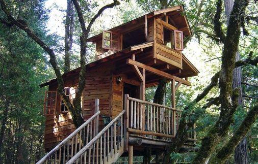 Tree House Ideas _treehouse _kidtreehouse _backyardideas _frontyardideas