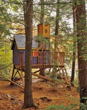 Want to Make a Treehouse_ • Awesome DIY Treehouse Projects and Tutorials_ Including this incredible .