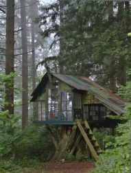 cabinporn_ Treehouse at Pilchuck Glass School near Stanwood_ WA. Submitted by Jason Warner.