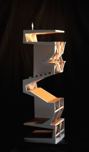 """conceptmodel_ """"théatre vertical_ Rendu de fin 1ère Année_ Pierre WÜTHRICH (EPFL) """""""