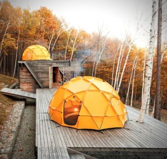 i have an irrational love for this 2_meter dome tent from the north face. only _5000_