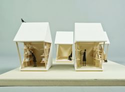 luna perschl rethinks earthquake recovery shelter with pocket house _ designboom _ architecture